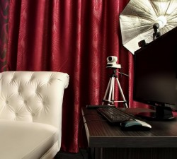 Cum arata o camera intr-un studio de videochat ?