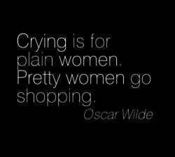 Pro ori contra ! Terapia prin shopping !