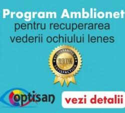 Programul amblionet de tratament a ambliopiei de la optisan.ro