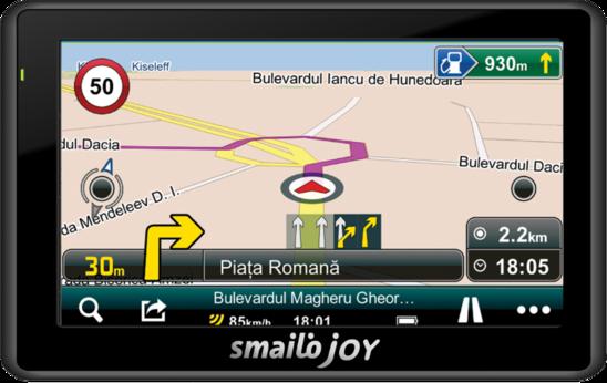 sistem-navigatie-gps-auto-smailo-joy-43-harta-romania