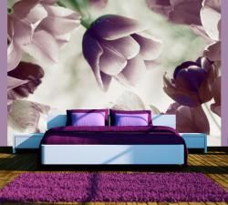 Adu prospetimea florilor in casa ta cu un fototapet 3D cu motiv floral