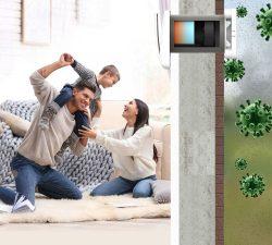 Viitorul este sistemul de ventilatie cu pompa de caldura